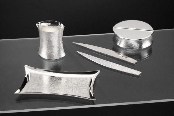 portapenne e matite in argento zanetto regali