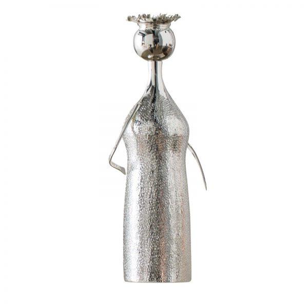 Portacandele-vaso-argento-zanetto-piccolo-uomo