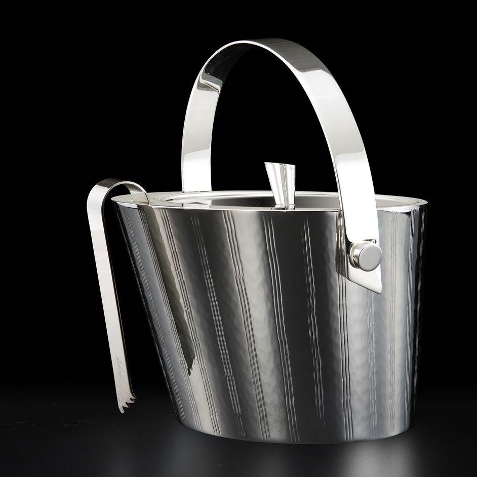 secchiello-per-ghiaccio-in-lega-argentata-zanetto-vie-con-pinza-e-supporto-pinza-nero