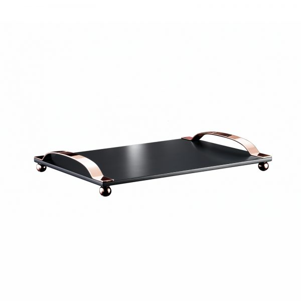 9180-black-tray-with-copper-handle-zanetto